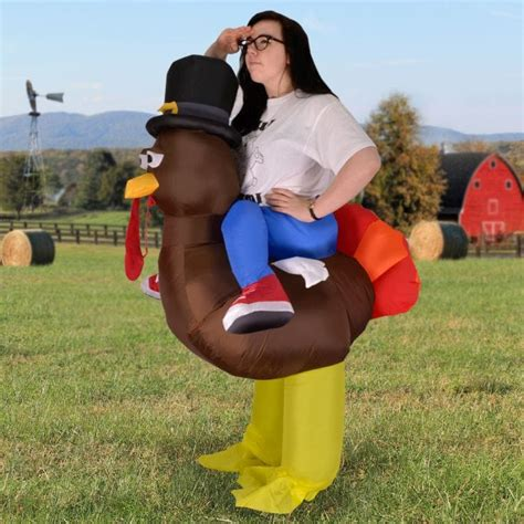 Cheap Housewarming Gifts inflatable turkey costume find me a gift