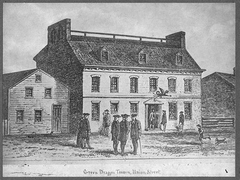 blue tavern list of former houses and coffeehouses in boston