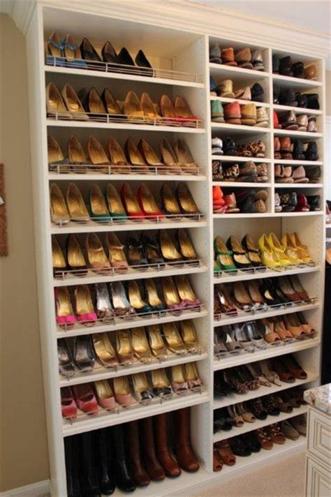 Shoe Closet Organization by Spectacular Shoe Storage Contemporary Closet Dc