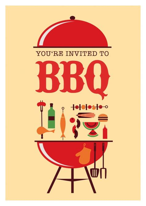 Awesome Christmas Postcard Design #8: Bbq-invitation-celebrate-party-eat-join-us-greeting-card-4892_96.jpg