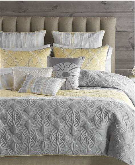 yellow gray and white bedding bryan keith tango grey yellow white 7 piece twin