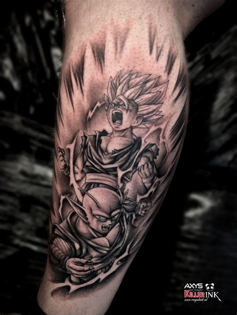 gohan tattoo 49 best tattoos images on