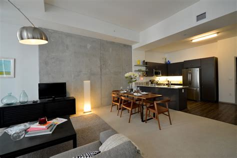 Vine Apartments by 1600 Vine Apartment Homes Transitional Kitchen Los Angeles By Tazz Lighting Inc