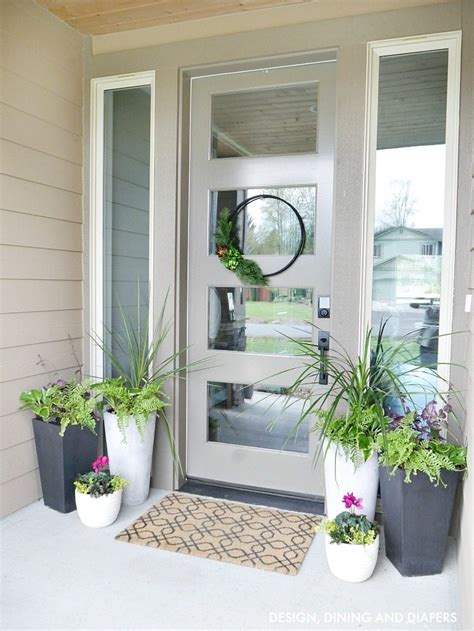 planters for front porch front porch planter ideas whiteaker