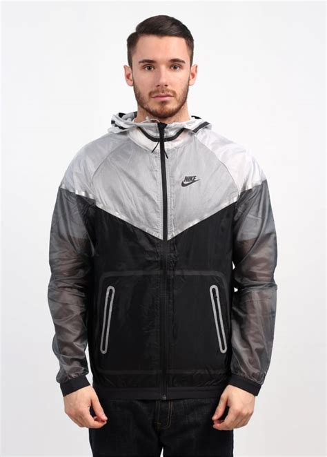 Nike Windrunner Black Grey nike tech hyperfuse windrunner grey black