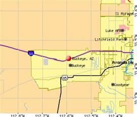 map of buckeye arizona buckeye arizona az profile population maps real