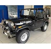 Ssangyong Korando Jeep Specification Cars For Sale  Global Auto