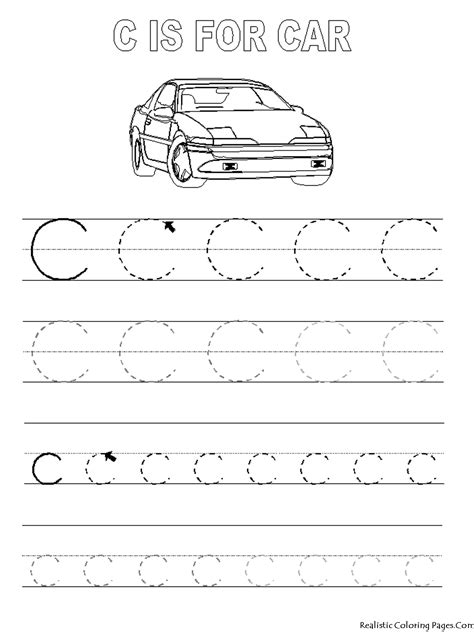coloring pages tracing letters free trace letter e coloring pages