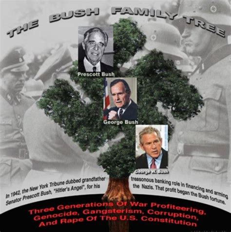 illuminati family tree bush family tree