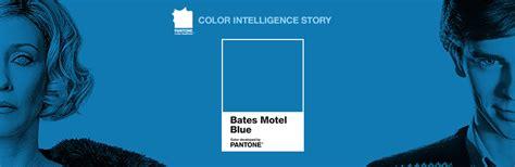 2017 Pantone Color Palette Graphics Bates Motel Blue Norman S Favorite Color