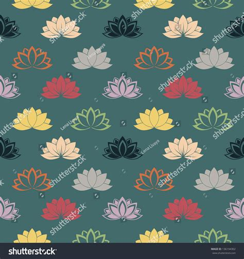 free lotus background pattern seamless pattern with lotus flowers vector background