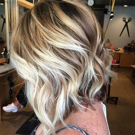 silvery blonde highlights 51 trendy bob haircuts to inspire your next cut bobs