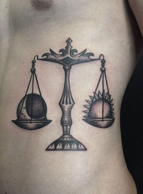 libra scales tattoo designs libra tattoos for ideas and inspiration for guys