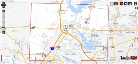 Denton County Search Denton County Property Search And Interactive Gis Map Taxnetusa