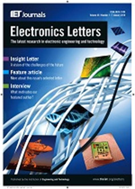iet digital library electronics letters