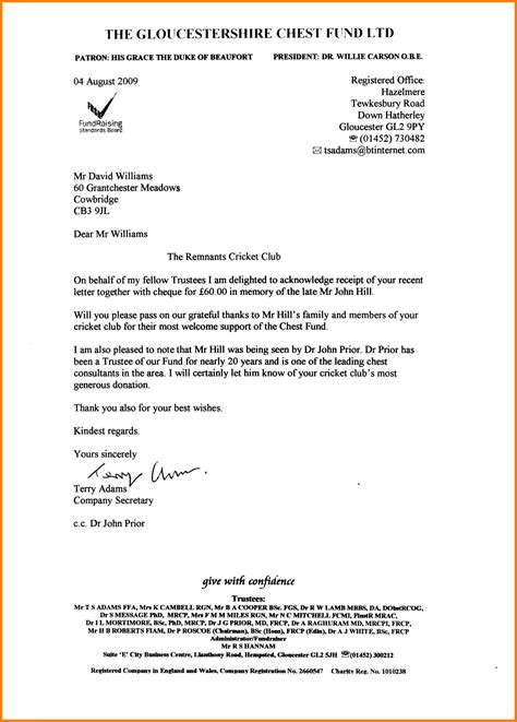 28 business letters uk formal business letter