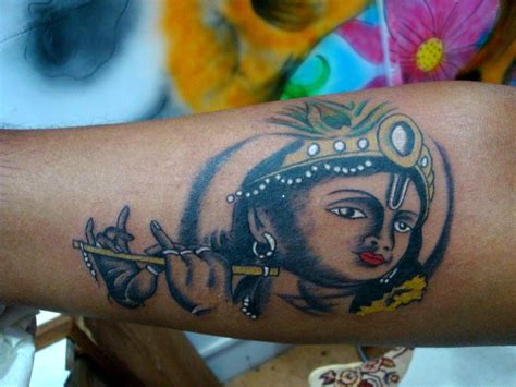 krishna tattoo designs for men krishna best design ideas