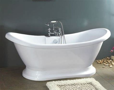 Bath Tubs Pedestal Bathtub With Faucet Clawfoot Tub