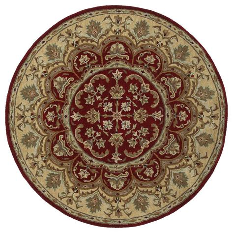 9 x 9 rugs kaleen tara leonardo burgundy 9 ft 9 in x 9 ft 9 in area rug 7706 04 9 9 rnd the