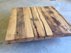 tisch aus balken m 246 bel tisch aus alten eichenbalken