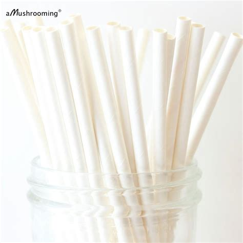 How To Make A Paper Straw - wholesale paper straws plain white paper straws solid