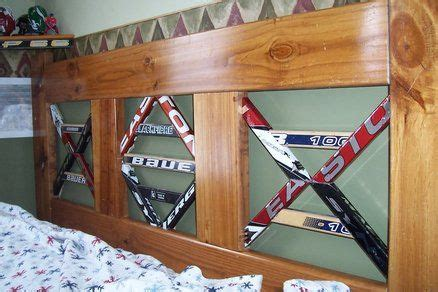 32 Best Hockey Diy Projects Images On Pinterest Hockey Hockey Bed Frame