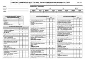 report card template 33 free word excel documents