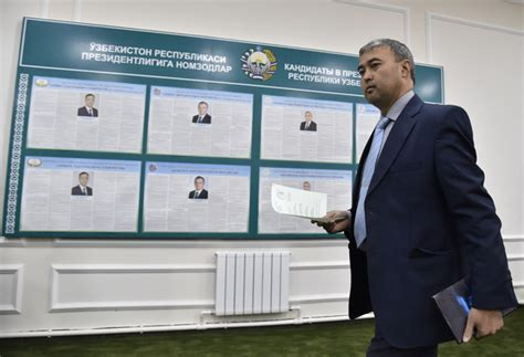 uzbek presidents death puts spotlight on the countrys uzbekistan votes in first election since karimov s death