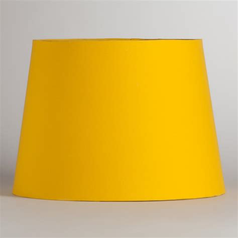 yellow shades yellow silver embossed table l shade world market