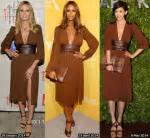 Who Wore Michael Kors Better Heidi Klum Or Hudson by Lea Michele S Ella Moss Biarritz Romper Carpet
