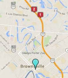 map of brownsville brownsville hotels motels see all discounts