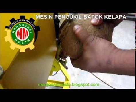 Minyak Batok Kelapa mesin pencukil batok kelapa