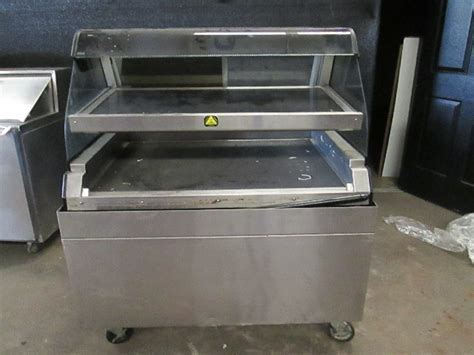 Alto Shaam ED2 48/2S Dual Level Self Serve Hot Food Warmer