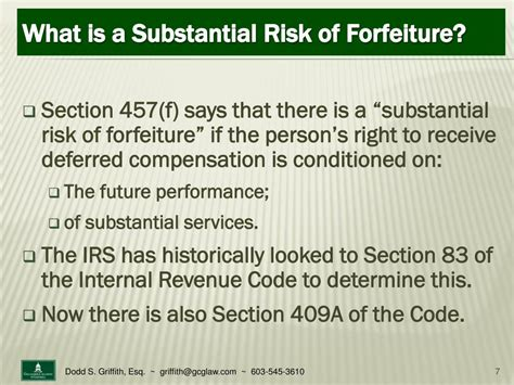 section 83 irc ppt non qualified deferred compensation for credit