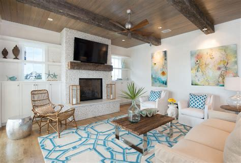 new vacation home with coastal interiors home