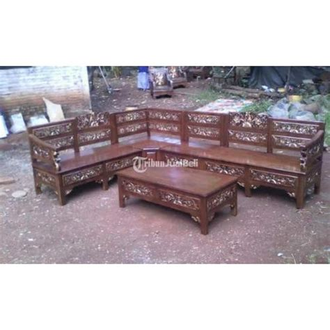 Kursi Tamu Jati Di Jogja kursi tamu sudut jati meubel barang ready stock bisa pre