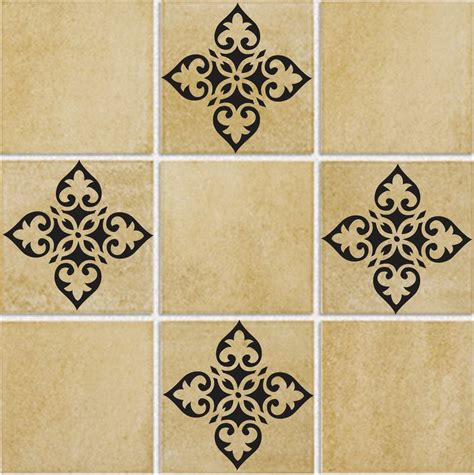 bathroom tile tattoos tile d49 vinyl wall bath kitchen decor sticker