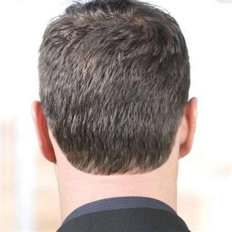 square nape haircut for men how to choose a blocked rounded or tapered neckline