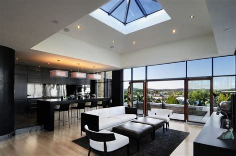 modern luxury penthouses penthouses projector screens and projectors on pinterest