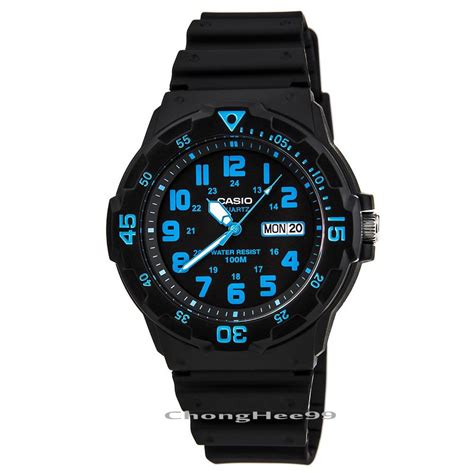casio dive new casio mens mrw200h resin band dive 100m sport