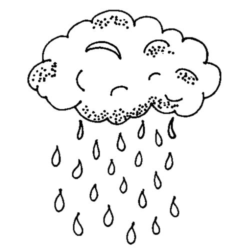 Coloring Pages About Rain | animations a 2 z coloring pages of rain