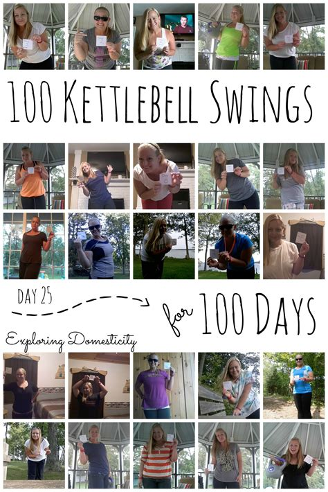 kettlebell swing results 100 kettlebell swings for 100 days day 25 healthy