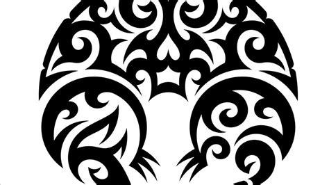 draw vector drawing vector graphics tribal illustration