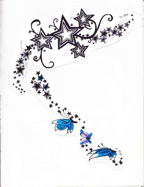 stars n butterfly tatoo by xxsirinnxx on deviantart