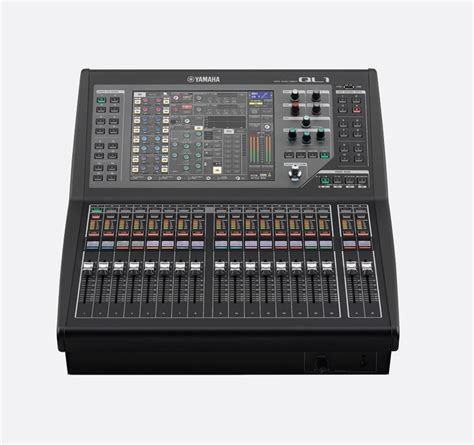 Mixer Yamaha Ql yamaha ql1 mixer digital dante 16 mono 8stereo inputs 16mix 8 matrix busses 16 2 faders