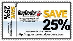 rug doctor rental coupons rug doctor rental coupons on coupon and watches