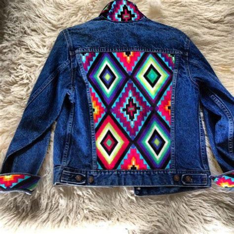 pattern for jeans jacket jacket jean jackets denim jacket aztec tribal pattern