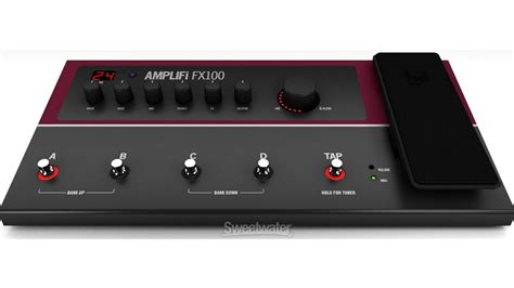 Multi Efek Line 6 line 6 lifi fx100 effect modeler demo sweetwater sound