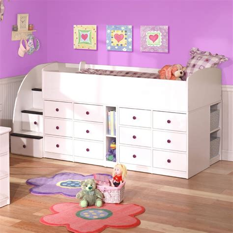 Bunk Bed With Space Underneath Furniture Childrens Bunk Beds Wooden Bunk Beds Childrens Also Furniture Space Saving Beds