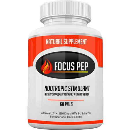 5 Best Stimulants addrena focus pep the counter stimulants to speed up